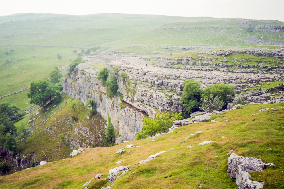 Malham Cove back in 1994