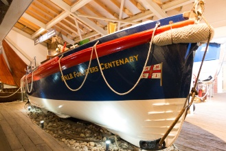 R.N.L.B. Foresters Centenary, predecessor to the R.N.L.B. The Manchester Unity of Oddfellows. Photos of the historic lifeboats and fishing boats collection in Sheringham museum. (http://www.sheringhammuseum.co.uk)