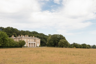Sheringham Hall (privately owned), the stately home that the park was built around. (Photos from National Trust Sheringham Park.)